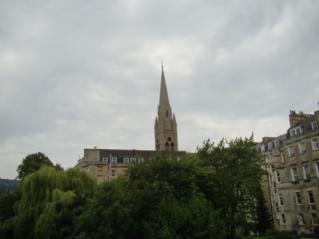 View of St Mary's Church from N Parade #2