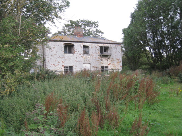 Derelict cottage at Lake Farm