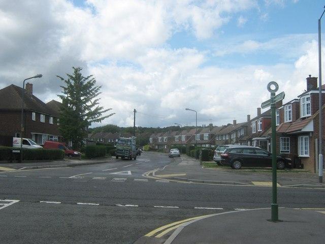 Green Chain Walk crosses Edison Road