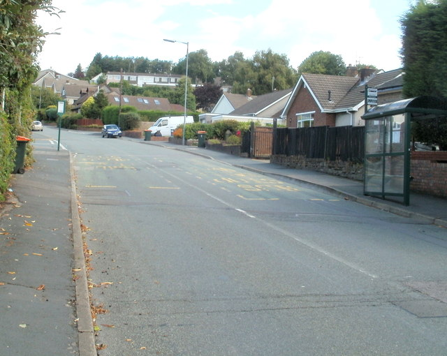 High Cross Lane bus stops, Newport