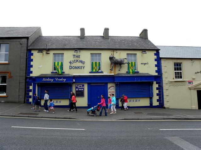 """The Kicking Donkey"", Bundoran"