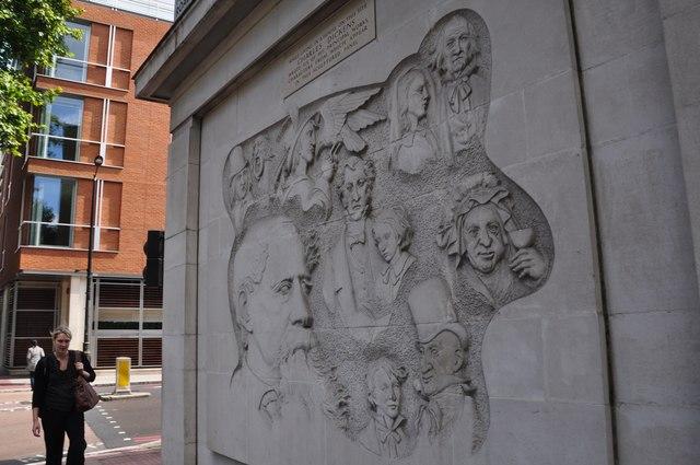 London : Westminster - Charles Dickens Artwork