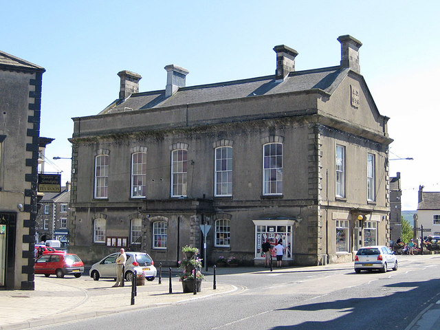 Grade II listed former town hall, Leyburn