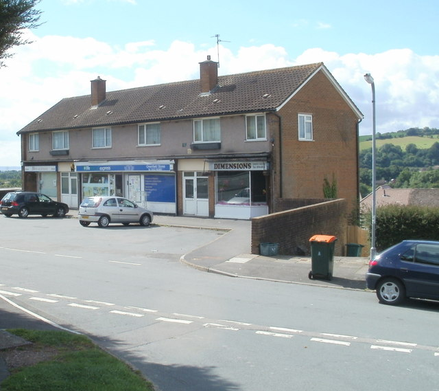 Greenfield Road shops, Newport
