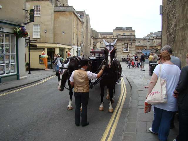 Horses and carriage on York Street