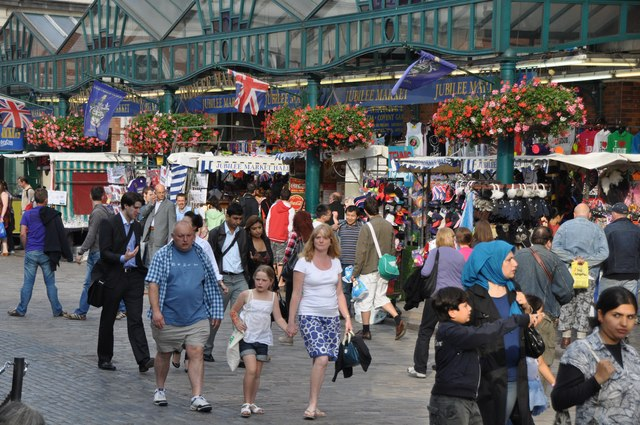London : Westminster - Covent Garden & Jubilee Market