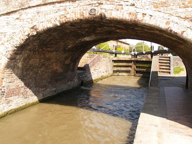 Bridge No. 2 and Lock No. 1 at Braunston