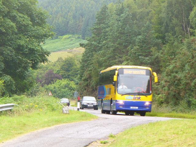 Bus at Creag Aimhreidh