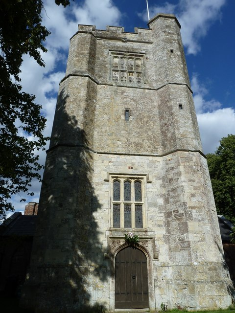 St Mary's, Micheldever: church tower