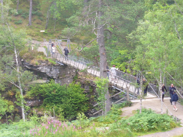 Corrieshalloch Gorge Footbridge
