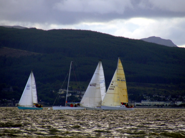 Yacht race off Inverkip