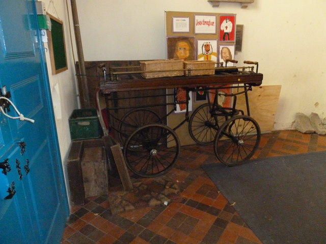 St Mary's, Micheldever: funeral cart