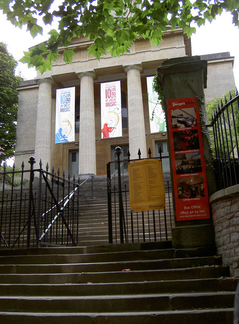 Steps to St George's Hall