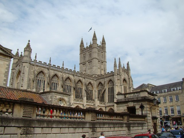 View of Bath Abbey from York Street