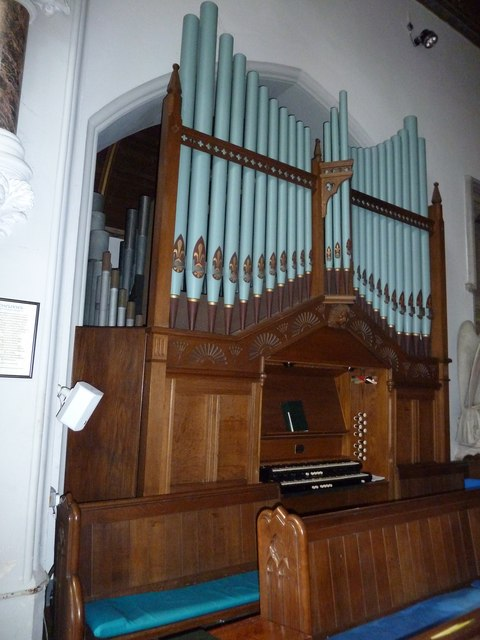 St Mary's, Micheldever: organ