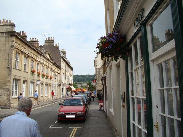 Looking along York Street to North Parade