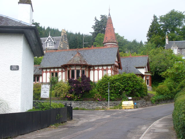 By White Lodge, Strathpeffer