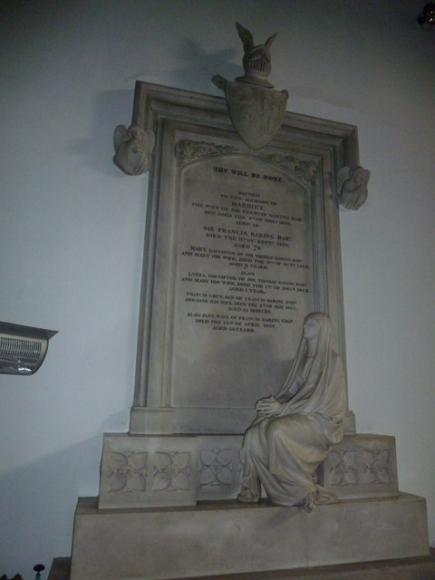 St Mary, Micheldever : memorial (7)