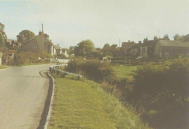 Carr Lane, Kilburn in 1984