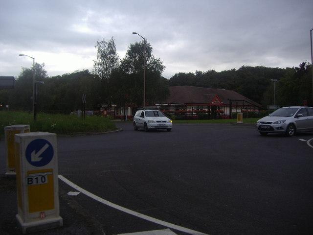 Wake Arms roundabout