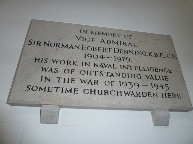 St Mary's, Micheldever: memorial (11)