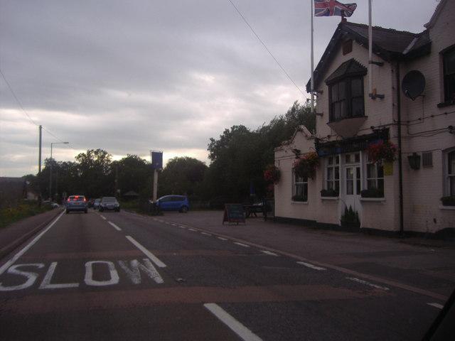 The Woodbine Inn on Woodridden Hill