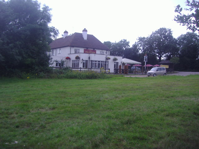 The Volunteer pub on Epping Forest