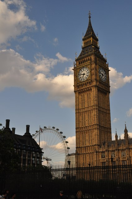 London : Westminster - Big Ben & London Eye