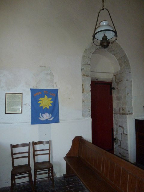 Saint Mary, Tufton: banner