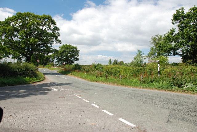 Pinfold Lane Road Junction