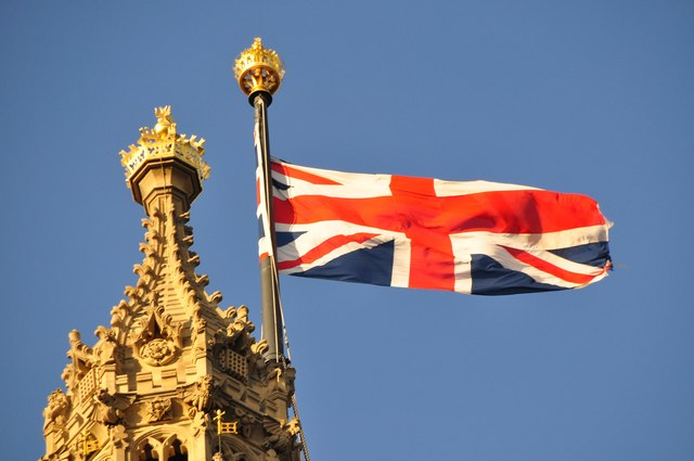 London : Westminster - Victoria Tower Flag