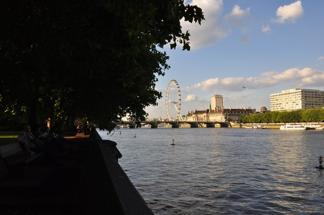 London : Westminster - The River Thames