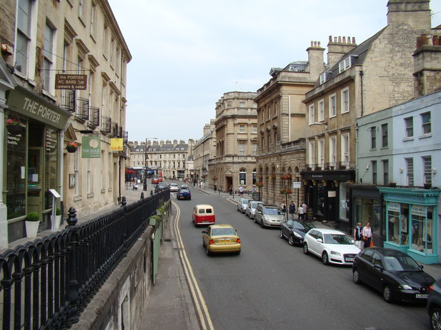 View along George Street
