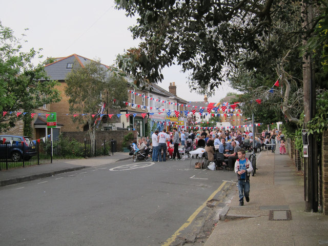 Bloomfield Road street party