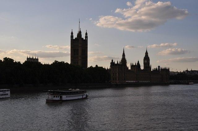 London : Lambeth - The River Thames