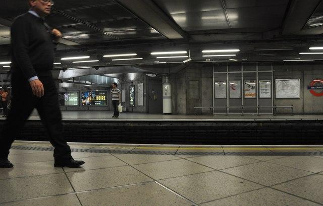 London : Westminster - Westminster Underground Station
