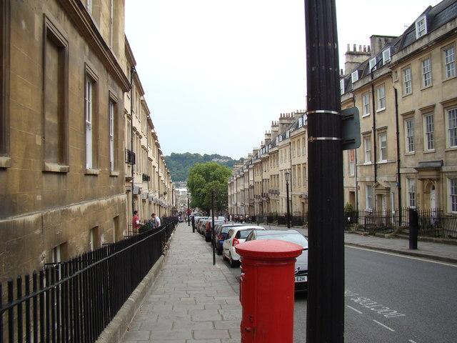 View down Gay Street #2