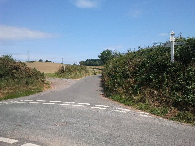 Crossroads near Kenton