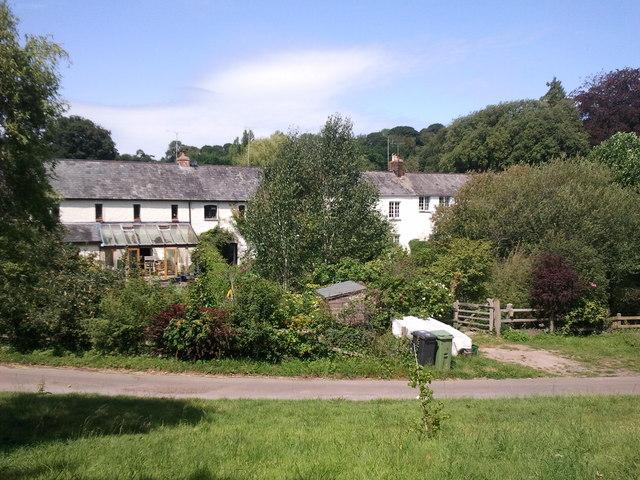 Houses near Oxton House