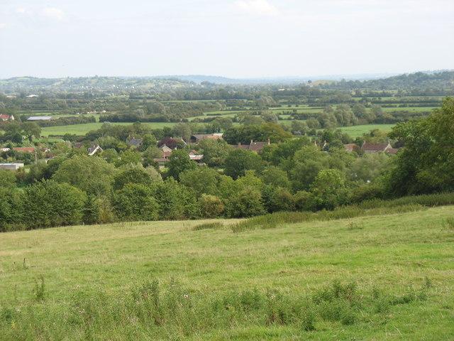 The hillside south-east of Crickham