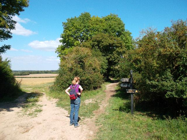 Junction, Shakespeare's Way and Ridgeway