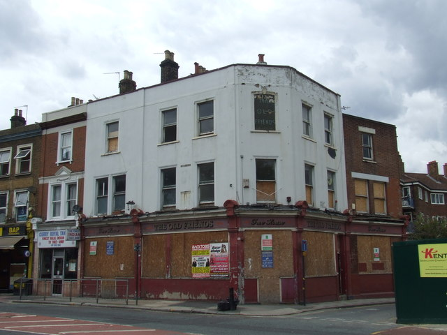The Old Friends, East Greenwich