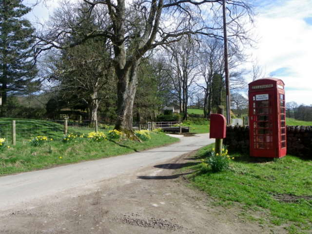 Telephone box, Gollinglith Foot