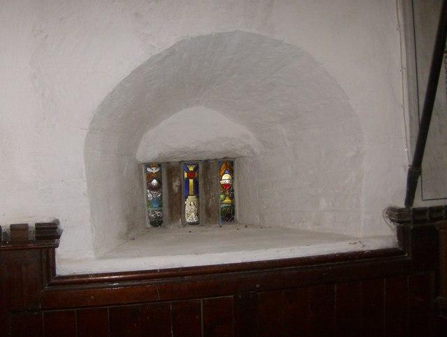 Leper Window at St Martin's Church