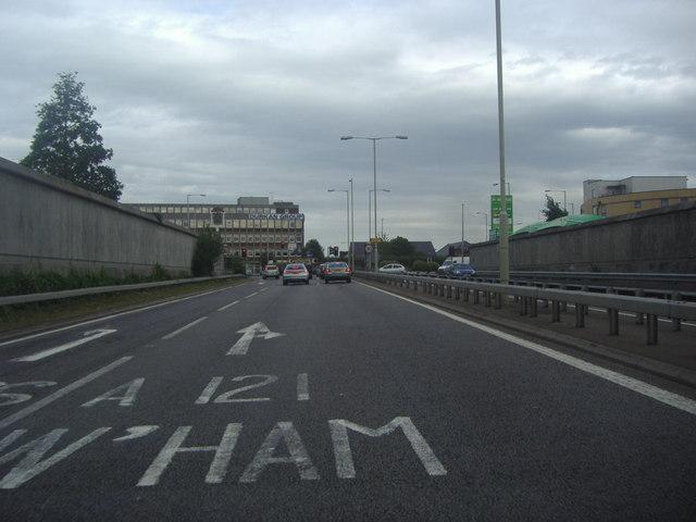 Winston Churchill Way, Waltham Cross