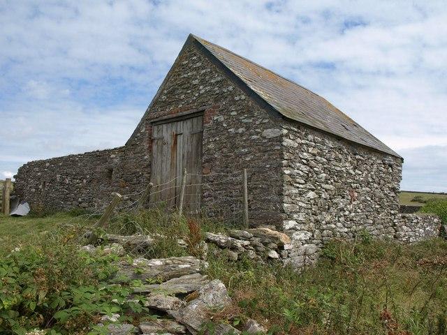 Barn above Starehole Bottom