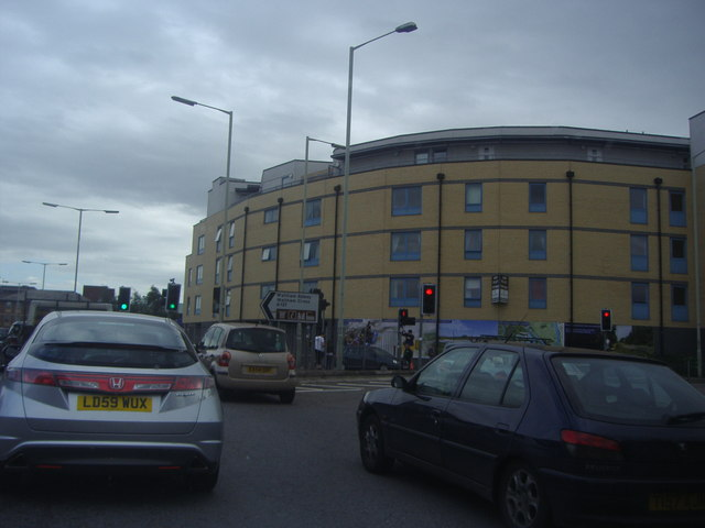 Offices by the A121 roundabout, Waltham Cross