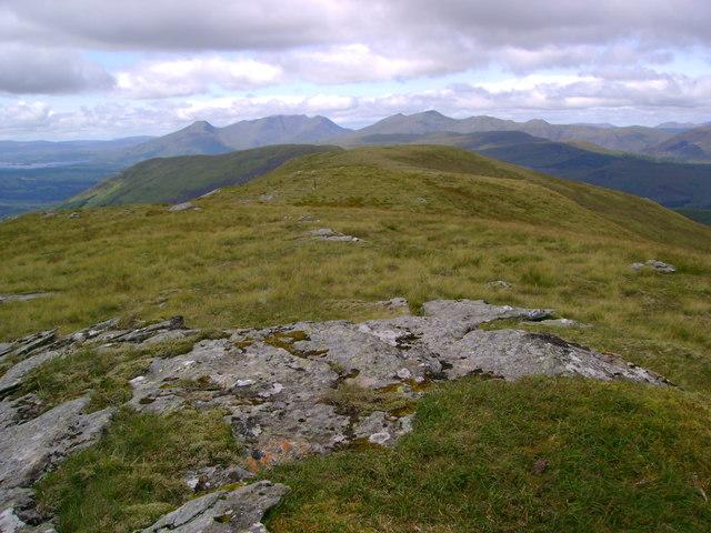 Ridge to Beinn Dubh