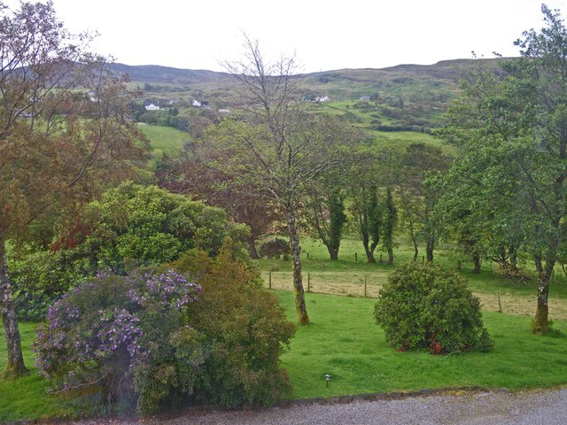 Grounds of the Woodhill guest house