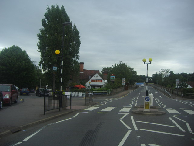 Zebra crossing on Coppice Row